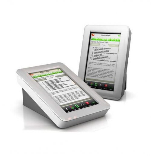 Кулинарная книга Demy Kitchen Safe Touchscreen Recipe Reader, $300