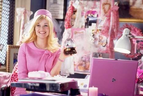 Блондиночки в розовом