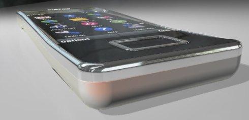 Изогнутый концепт-телефон Nokia B-FLOW: жизнь в стиле самба!