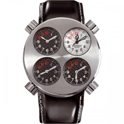 Часы Meccaniche Veloci Quattro Valvole – легкая жизнь в четырех часовых поясах