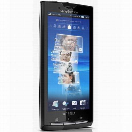 ОС смартфонов семейства Xperia X10 будет обновлена до версии 2.1