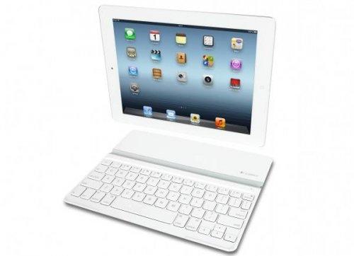 Logitech предложил тонкую белую обложку-клавиатуру для iPad
