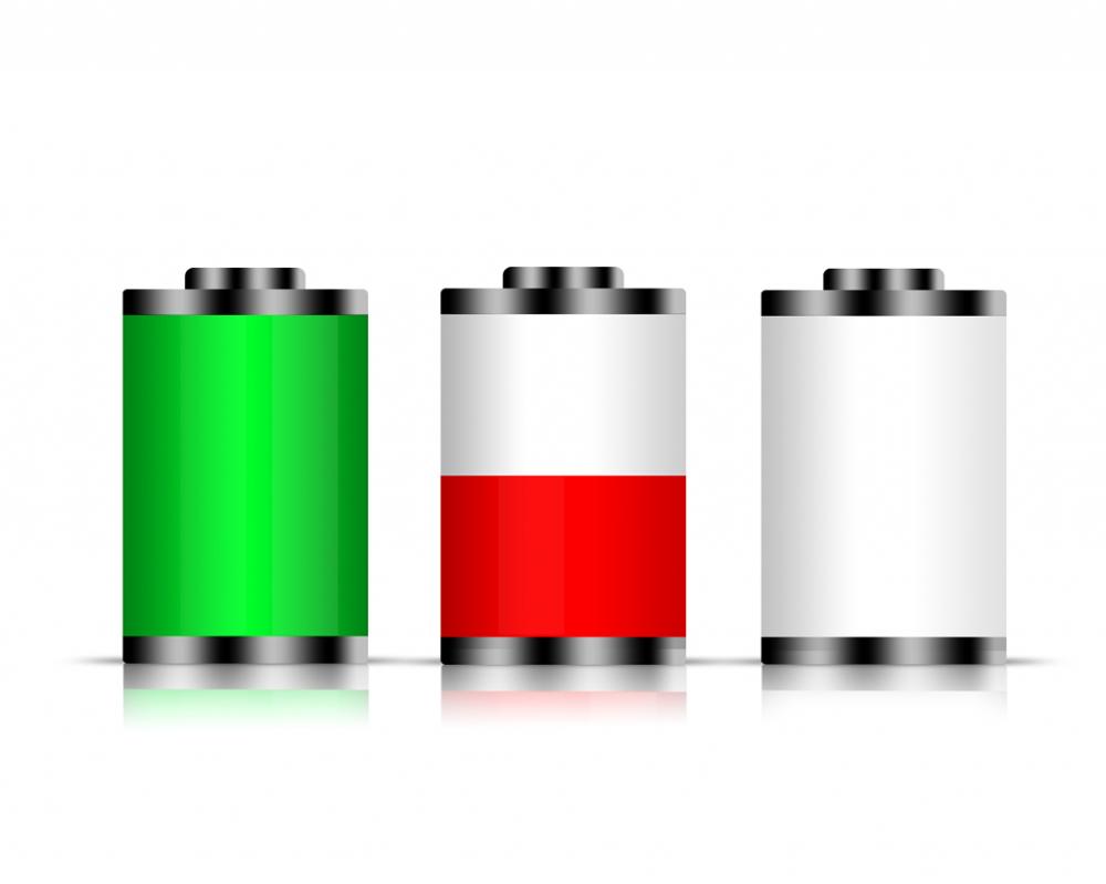 заряд батареи с изменением картинки цветок, обладающий