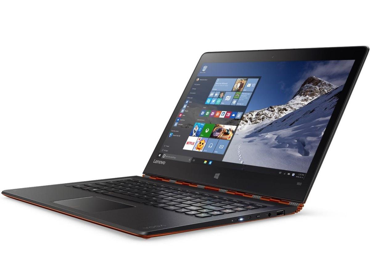 Lenovo анонсировала гибридный ноутбук Yoga 900