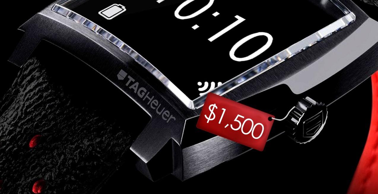 Умные часы Tag Heuer будут стоить $1500