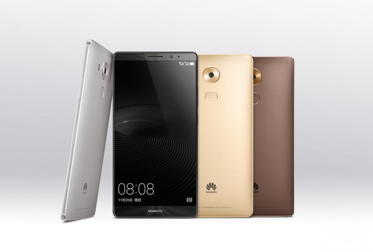 Huawei пердставила флагманский фаблет Mate 8
