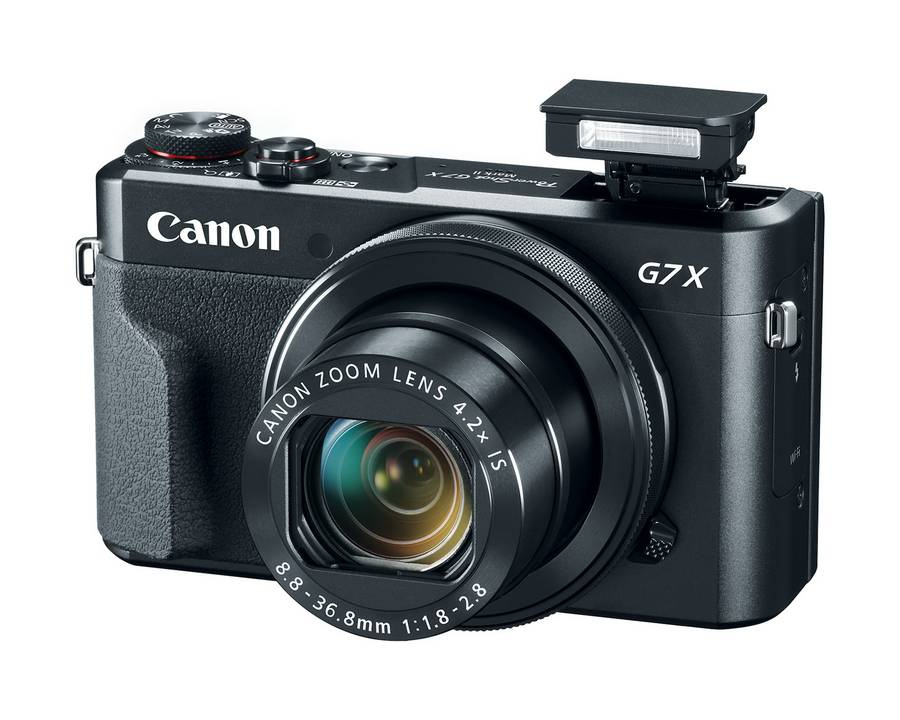 Canon анонсировала камеру Power Shot G7 X Mark II