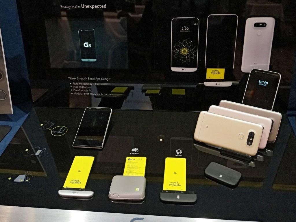 LG официально показала дешевый вариант смартфона G5