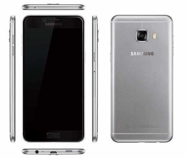 Утечка рендеры Samsung Galaxy C5 и Galaxy C7