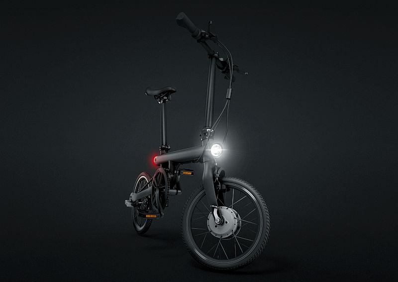 Xiaomi показала умный электрический велосипед Qicycle