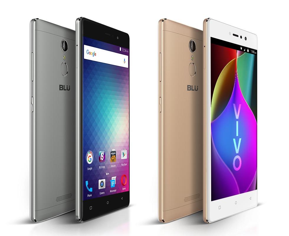 BLU анонсировала среднебюджетный смартфон Vivo 5R
