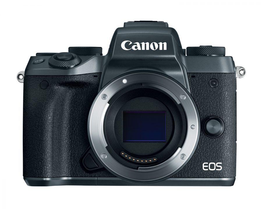 Canon представила беззеркальную камеру EOS M5