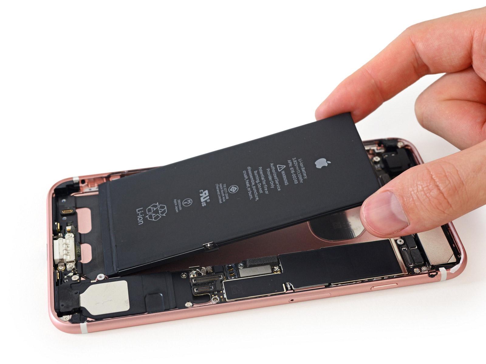IFixit разобрали iPhone 7 Plus