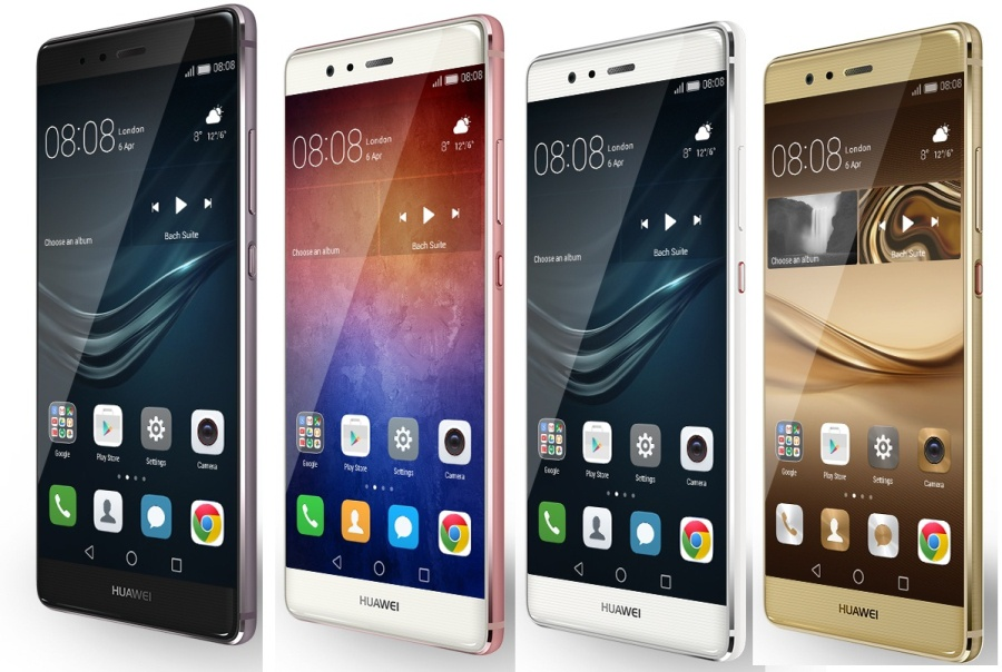 Поставки телефонов Huawei P9 иP9 Plus превысили 10 млншт.