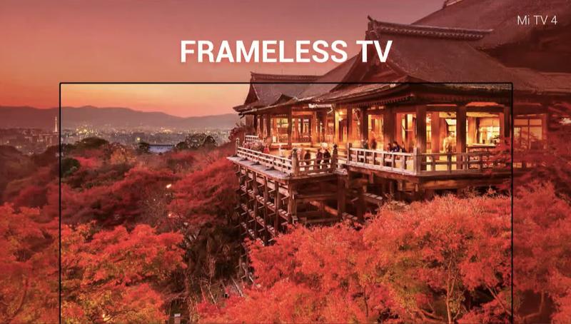 Xiaomi представила необычно тонкий телевизор Mi TV 4