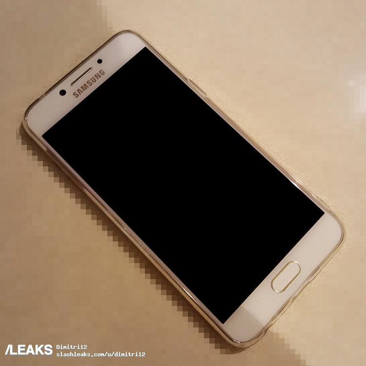 Всеть просочились фотографии Самсунг  Galaxy C7 Pro