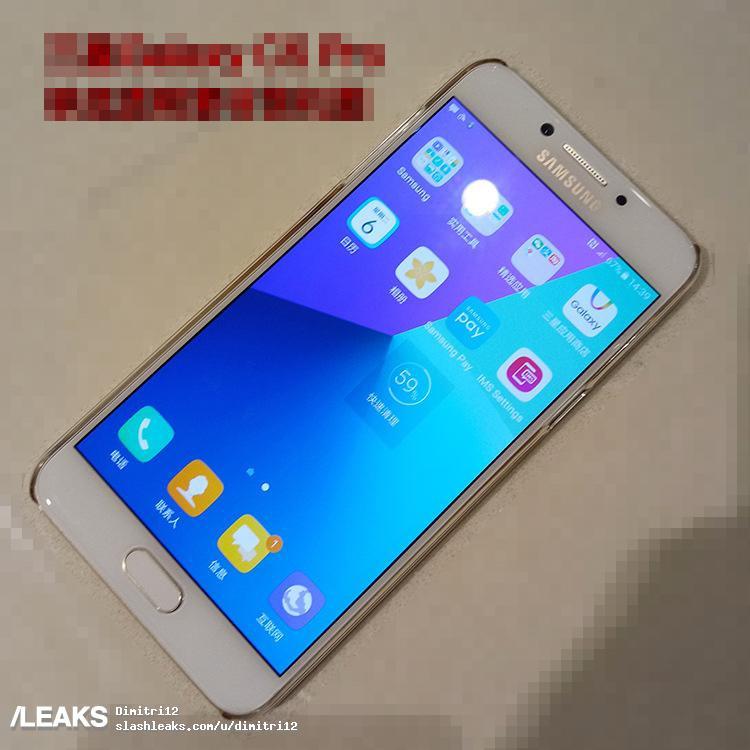 Рендеры Galaxy C5 Pro иC7 Pro официального вида утекли всеть