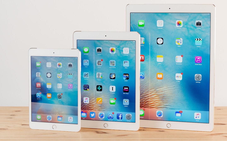 Три новых iPad покажут во 2-ой половине года