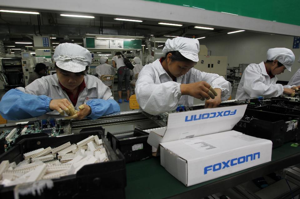 Foxconn может построить вАмерике завод за7 млрд. долларовв