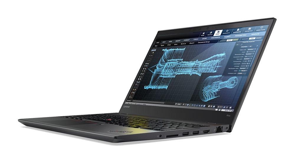 Lenovo представила обновленные ноутбуки ThinkPad P71, P51 иP51s