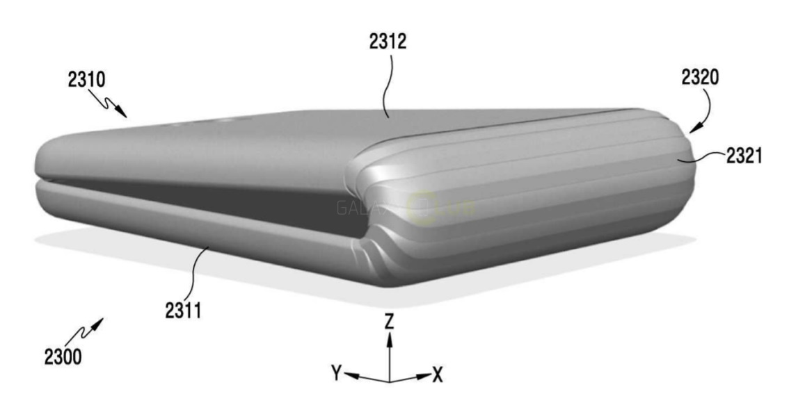 В 2017-ом году выйдет 1-ый гибкий смартфон от Самсунг