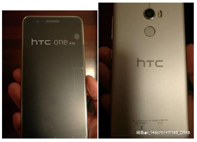 В Сеть «утекли» снимки нового смартфона HTC One X10