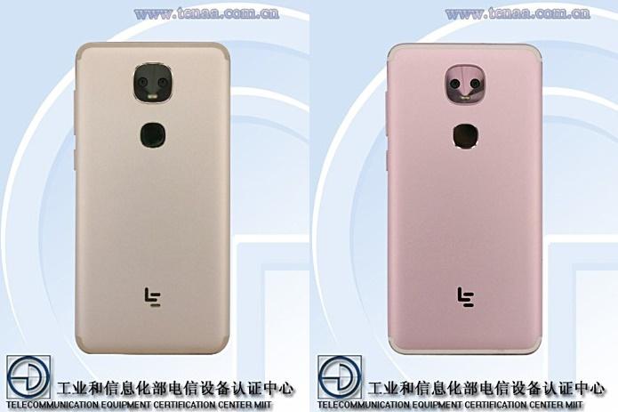 Вбазе TENAA увидели два новых телефона LeEco