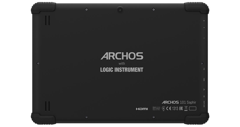 Archos 101 Saphir: общедоступный изащищенный отпадений планшет