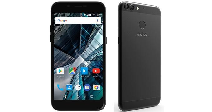 Archos анонсировала мобильные телефоны сдвойной камерой