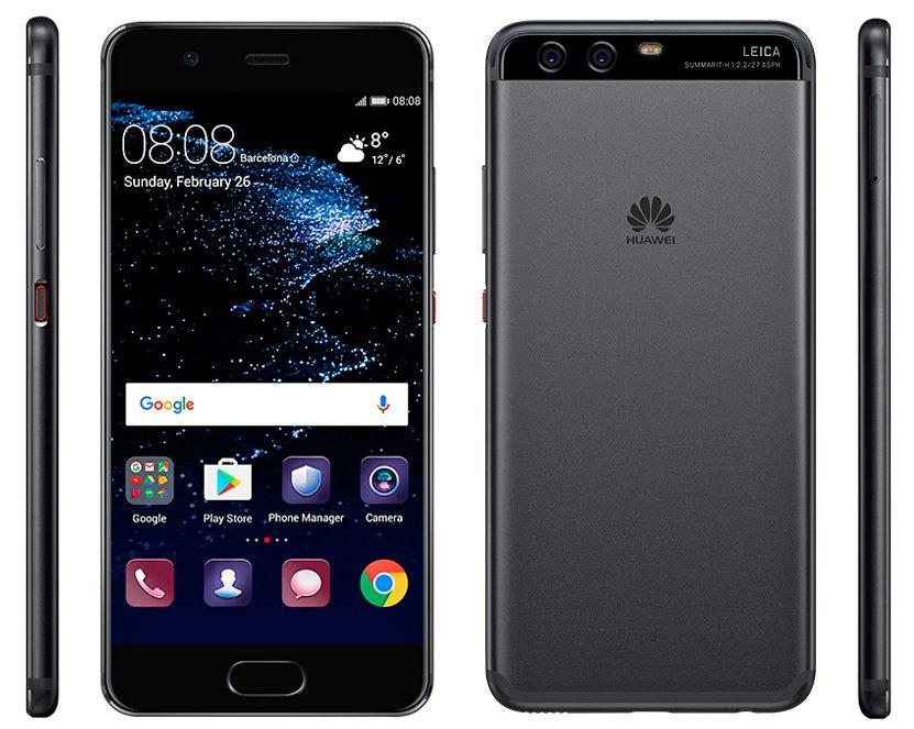 Рассекречены характеристики идизайн нового телефона Huawei P10
