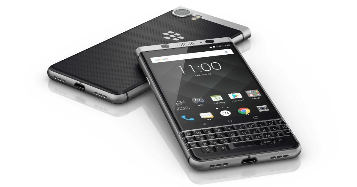 MWC 2017: смартфон BlackBerry Меркури представлен официально под именем KEYone