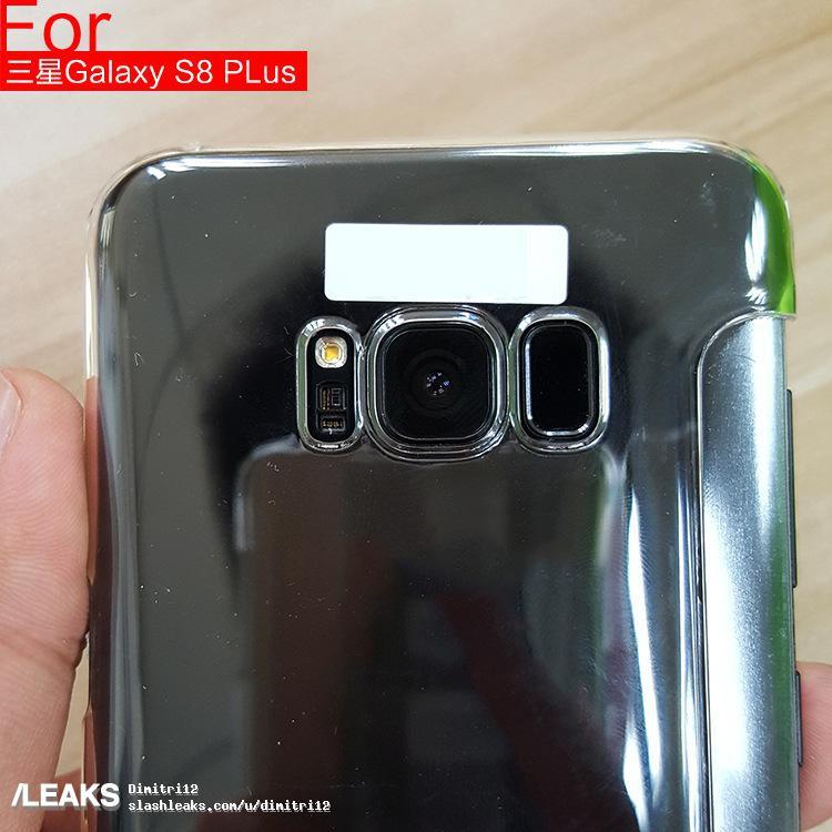 Заднюю часть флагмана Samsung Galaxy S8 показали на качественном фото