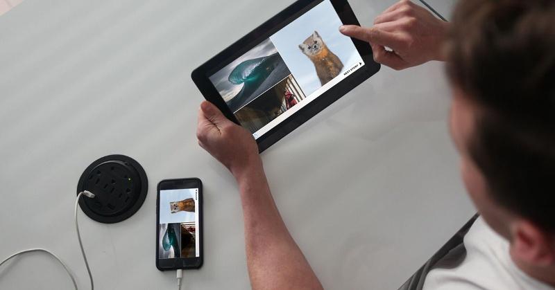 При помощи устройства Superscreen смартфон можно превратить впланшет