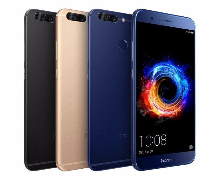 Honor 8 Pro официально пришёл в Российскую Федерацию