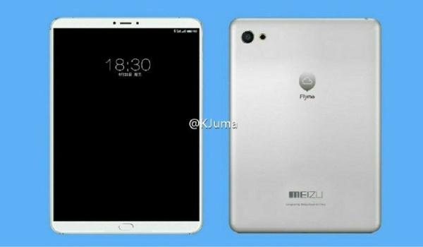 Meizu готовит канонсу 7.9-дюймовый планшет