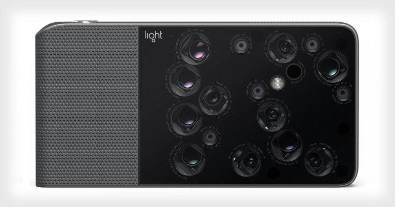 Light представила камеру с 16 объективами