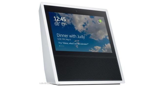 Amazon представила «умную» колонку Echo Show с7-дюймовым сенсорным дисплеем
