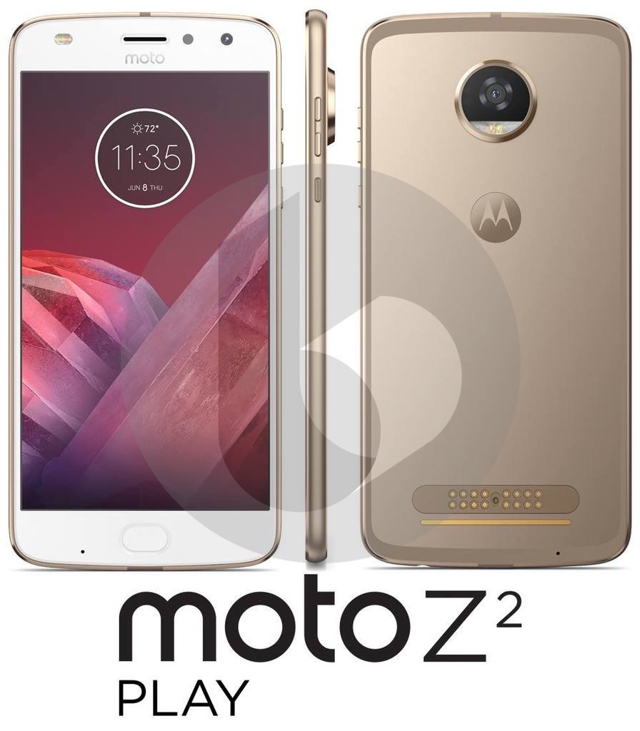 Moto Z2 Play будет намного легче предшественника