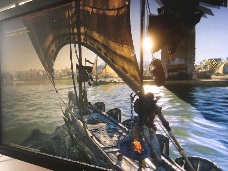 Всети интернет опубликовали 1-ый снимок экрана свежей игры Assassin's Creed