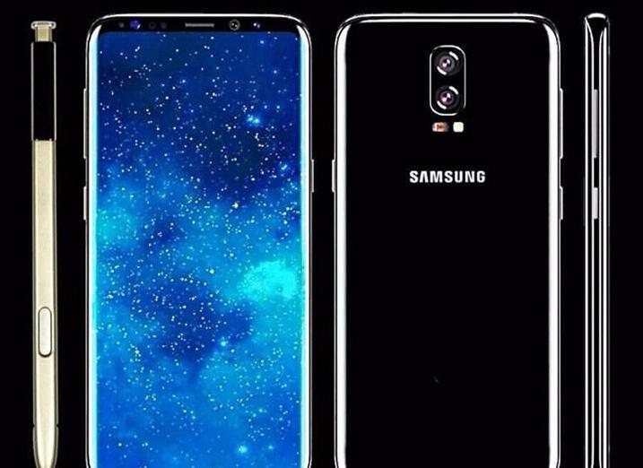 Слух Samsung Galaxy Note 8 получит 6.3-дюймовый дисплей и двойную камеру