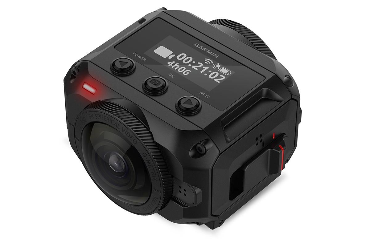 Garmin представила защищенную экшн-камеру VIRB 360