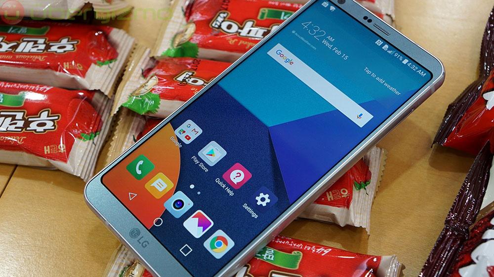 СмартфонLG G7 получит чип Snapdragon 845