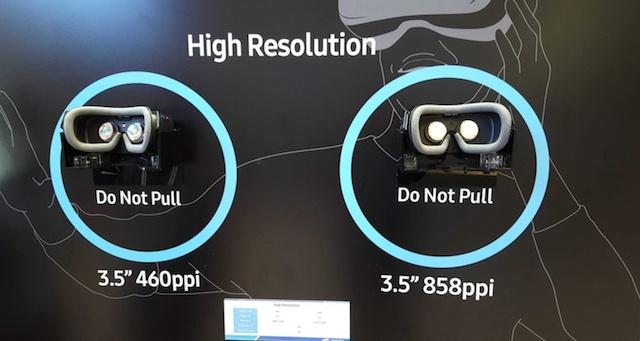 Samsung показала новый VR-дисплей с разрешением 2024х2200 точек