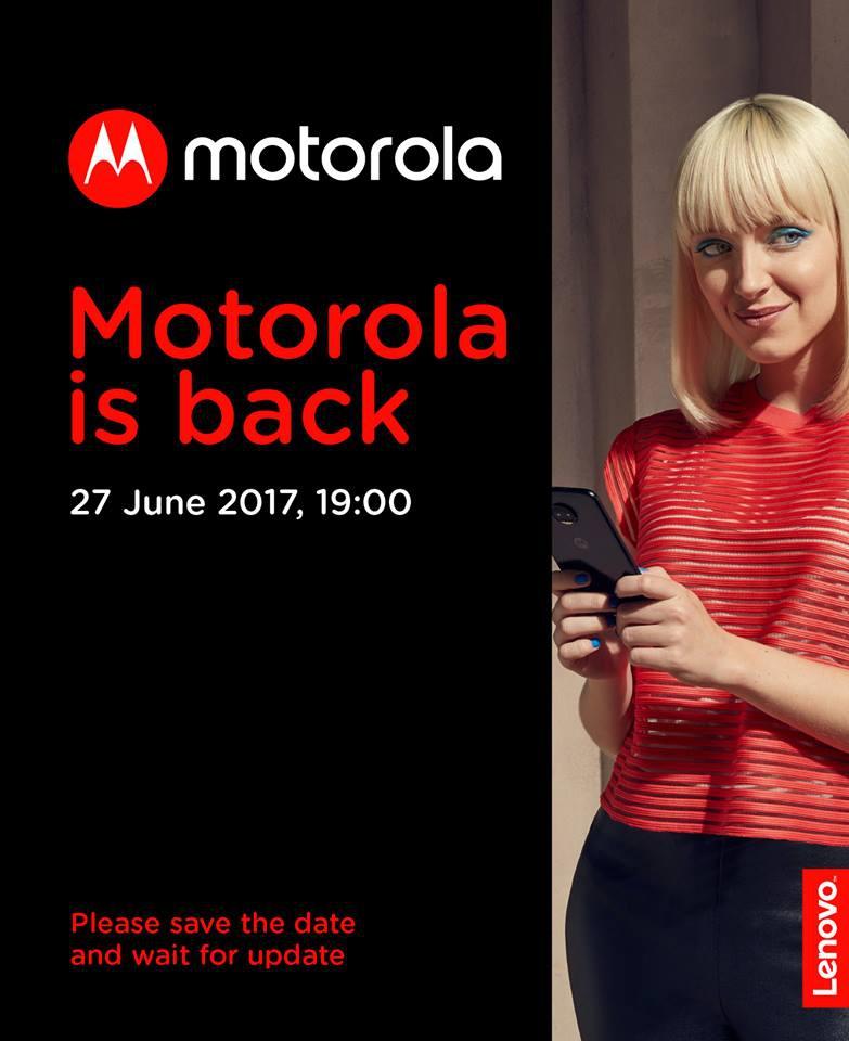 Новые Motorola представят в РФ 27июня