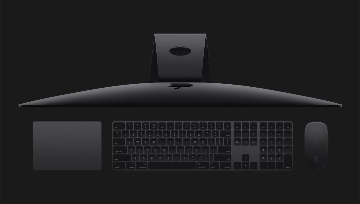 Apple iMac Pro— компьютер поцене автомобиля