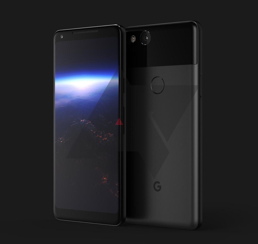 Безрамочный Google PixelXL 2 показался натендере