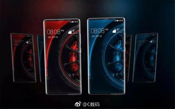 Опубликованы новые рендеры Huawei Mate 10 Pro