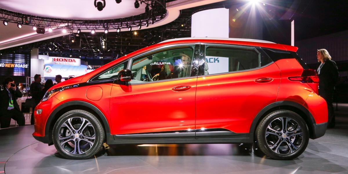 К 2023 General Mortors выпустит 20 новых электромобилей