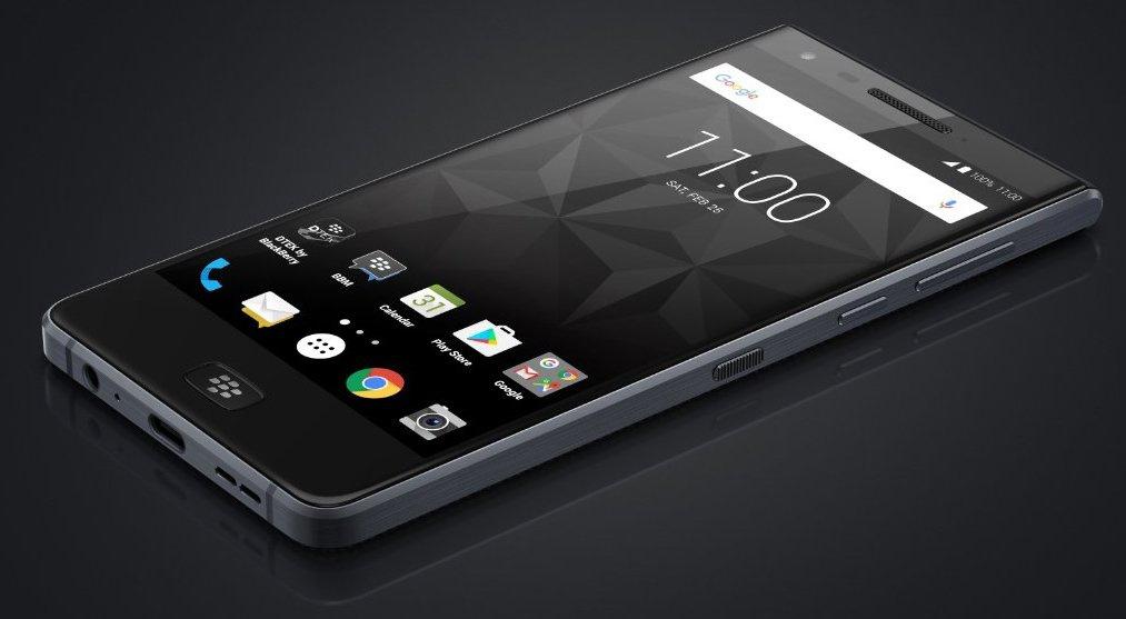 В сеть попал рендер нового смартфона Black Berry Motion