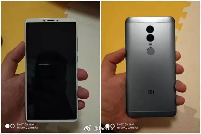 Первые «живые» фото смартфона Xiaomi Redmi Note 5 продемонстрировали по-настоящему безрамочный дизайн и удлиненный экран 18:9